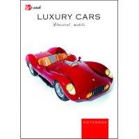"Книга для записей ""авто. ретро-авто (luxury cars)"", а6, 80 листов, Канц-Эксмо (Listoff, Unnika Land)"