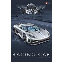 """Книга для записей """"авто. гоночный автомобиль"""", а5, Канц-Эксмо (Listoff, Unnika Land)"""
