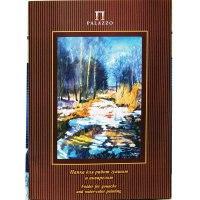 """Папка для работ гуашью и акварелью """"весенний лес"""", 20 листов, а3, Лилия Холдинг"""