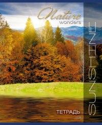 """Тетрадь """"природа. золотое озеро"""", 48 листов, клетка (10 штук) (количество томов: 10), КТС-про"""