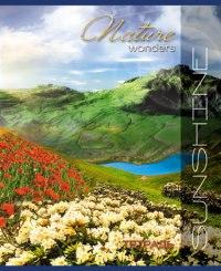 """Тетрадь """"природа. лето в горах"""", 48 листов, клетка (10 штук), КТС-про"""