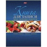 """Книга для записи рецептов """"ягодный десерт"""", а5, 96 листов, Hatber"""