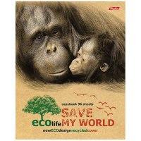 """Тетрадь """"eco. сохраним наш мир"""", а5, 48 листов, клетка, Hatber"""