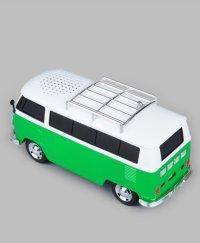 """Музыкальный центр/проигрыватель """"ретро-автобус"""", зеленый, Vebtoy"""