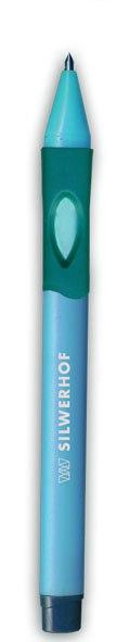 """Ручка шариковая для левшей """"left"""", 0,7 мм, синяя, Silwerhof"""