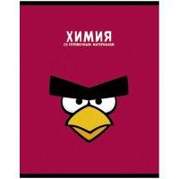 """Тетрадь тематическая """"angry birds. химия"""", а5, 48 листов, Hatber"""