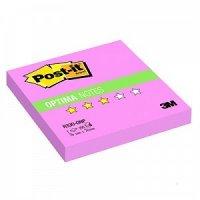 """Бумага для заметок с липким слоем """"post-it. optima - осень"""", 76x76 мм, розовый неон, z-сложение, 100 листов, 3M"""