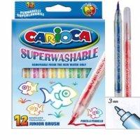 """Набор фломастеров """"carioca junior brush"""", 24 цвета, Universal"""