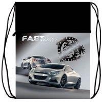 """Мешок для обуви """"fast car 1"""", 1 отделение, Оникс 21 век"""