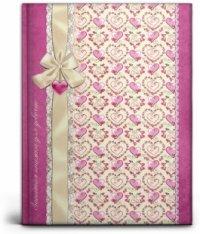 """Записная книжка для девочек """"нежные сердечки"""", а6, 80 листов, Проф-Пресс (канцтовары)"""