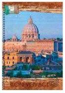 """Тетрадь """"вокруг света. путешествие по италии"""", а6, 80 листов, Канц-Эксмо (Listoff, Unnika Land)"""
