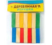"""Деревянная игрушка """"набор плашек (брусков)"""", 14 элементов, Проф-Пресс"""