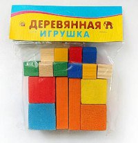 Деревянная игрушка. развивающий набор № 2 (счётный материал, часть-целое), Проф-Пресс
