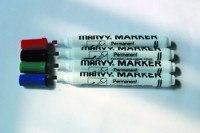 """Маркер перманентный """"mar482c/4"""", со скошенным наконечником, 1-4,5 мм, зеленый, MARVY"""
