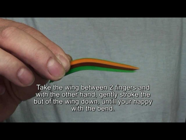 Making a married salmon fly wing