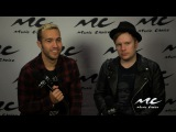 MC @ BBMAs Fall Out Boy Talks Red Carpet Nerves &amp Performing with Wiz Khalifa