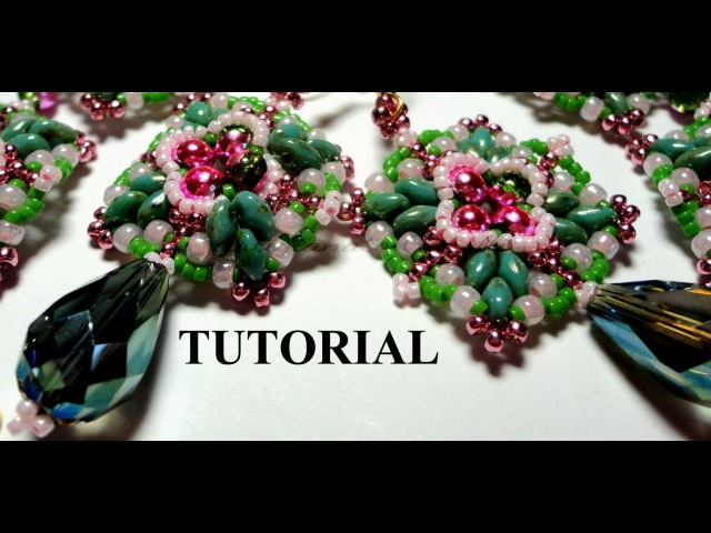 DIY Video Tutorial superduo perline parure Bon Bon Style