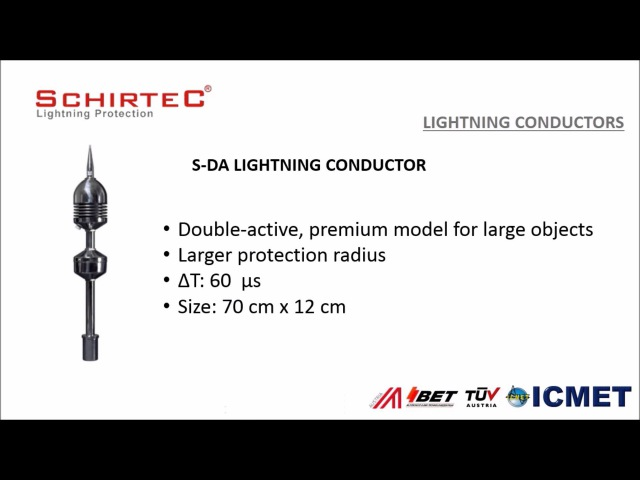 SCHIRTEC AG - LIGHTNING PROTECTION SYSTEMS