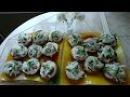 Закусочные бутерброды с селедкой с горчично сметанным соусом