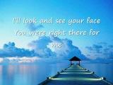 Faith Hill - There you'll be (lyrics)