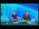 Ведущего разобрало в прямом эфире после сюжета про зоофилов.