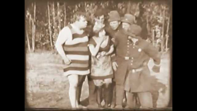 MABEL'S NEW HERO (1913) -- Roscoe Arbuckle, Mabel Normand, Mack Sennett, Charles Avery