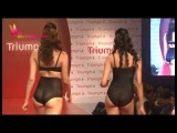 Hot Indian Models Bikini Walk At Triumph Lingerie Fashion Show 2015