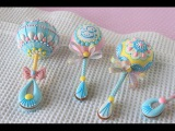How to Make 3-D Baby Rattle Cookies (with a Surprise Gender Reveal!)