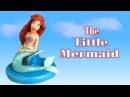 Fondant The little Mermaid Cake Topper La Sirenetta in pasta di zucchero