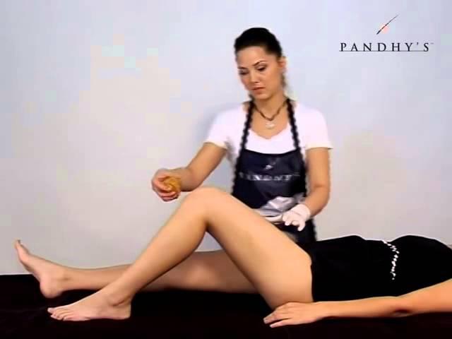 Шугаринг области ног (депиляция) от Pandhy`s.