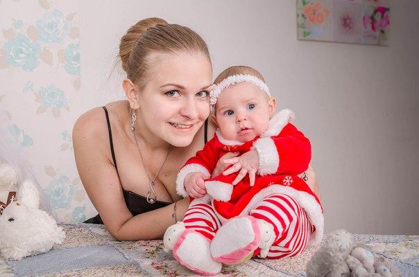 Младушка с мамой