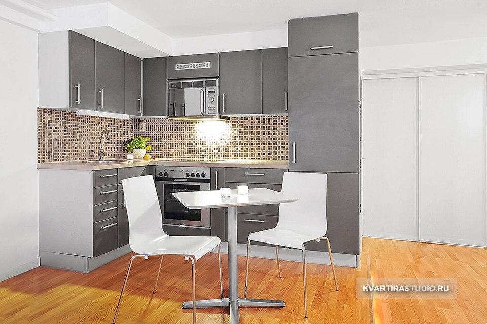 Интерьер квартиры студийного типа 31 м в Стокгольме / Швеция - http://kvartirastudio.