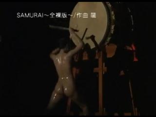Голые японские барабанщицы / Nude japanese drums