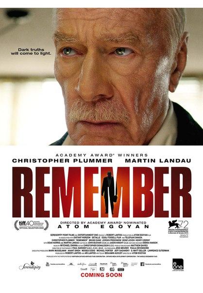 Постер и трейлер триллера о мести «Помни»: