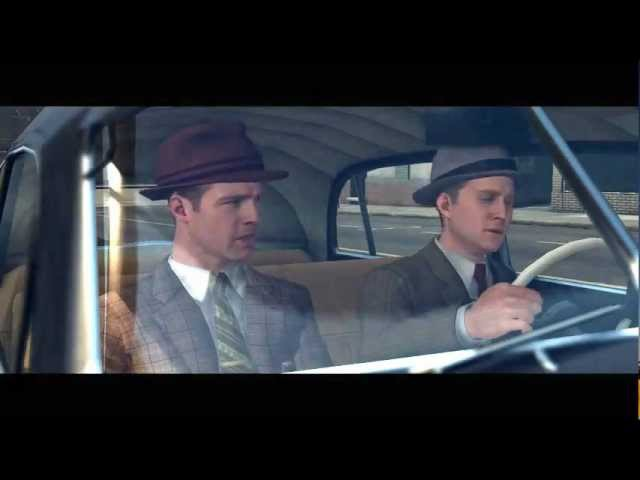 L.A. Noire Cinematic Bloopers