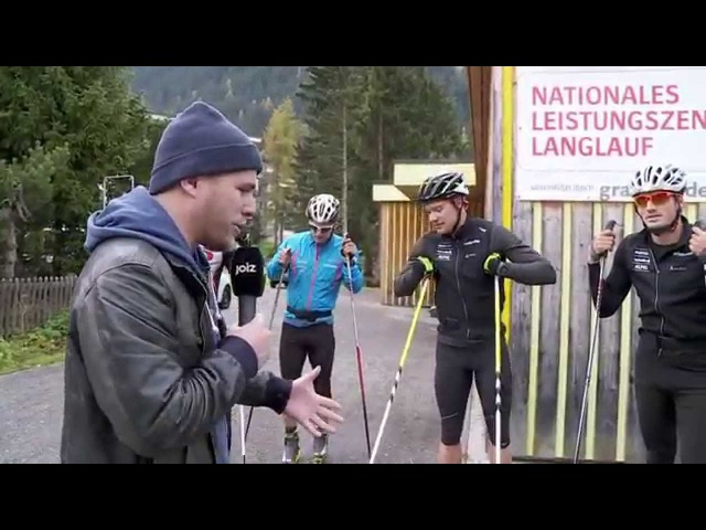 Rollski-Training mit Dario Cologna (25)