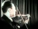 Яша Хейфец исполняет 24 каприз Паганини