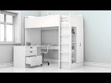 Новая кровать-чердак СТУВА – новые возможности