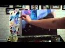 Алла Белопесоцкая урок живописи маслом Уютный дворик