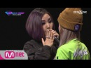 Korean Reality Show UNPRETTY RAPSTAR2 Diss Battle Kitti B vs Heize l Kpop Rap Audition EP 05