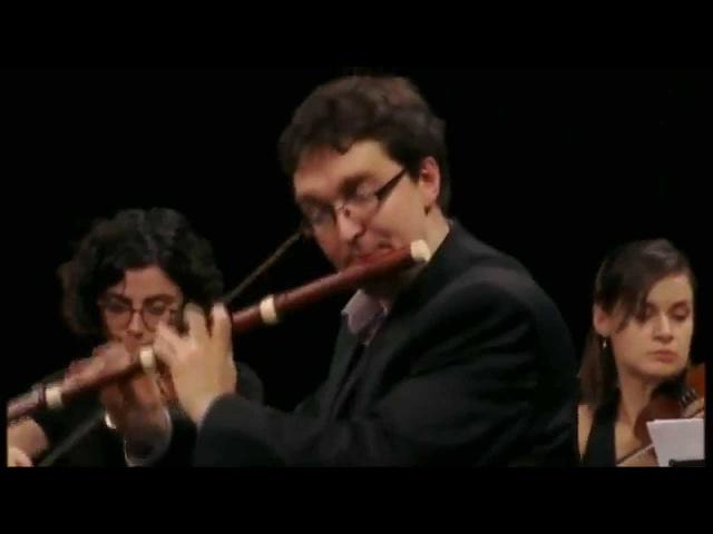 LECLAIR - Flute concerto (3) in C major by Alexis Kossenko Les Ambassadeurs