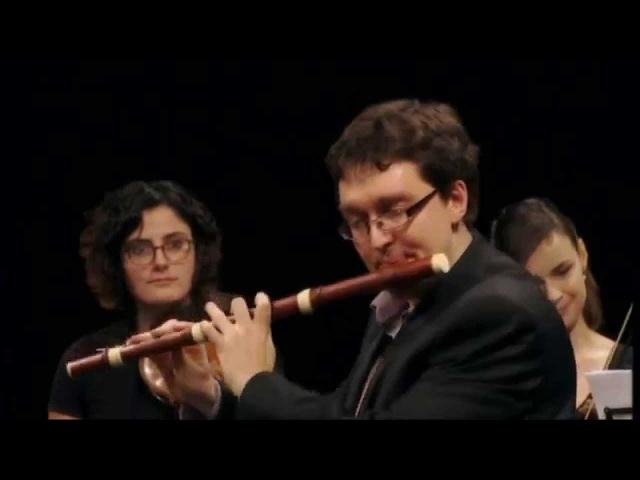 LECLAIR - Flute concerto (1) in C major by Alexis Kossenko Les Ambassadeurs