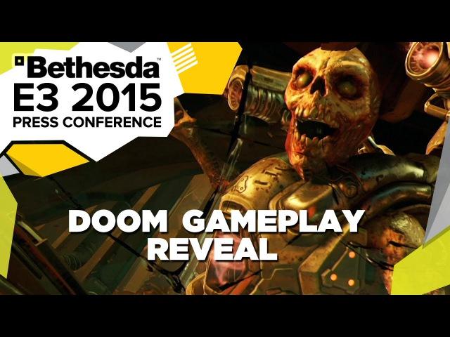 DOOM First Gameplay Reveal - E3 2015 Bethesda Press Conference