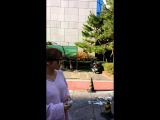 20141107 홍진영 뮤직뱅크 중간외출