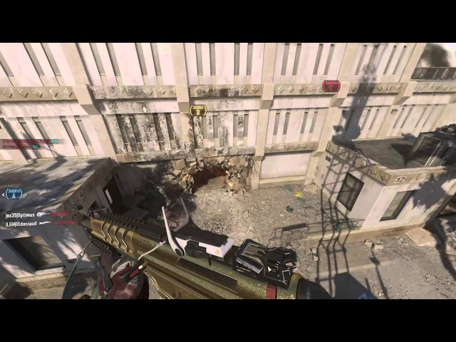 Call of Duty Advanced Warfare играет Zaslon