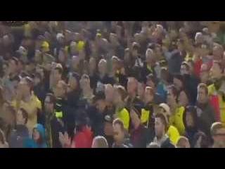 БОРУССИЯ ДОРТМУНД- КРАСНОДАР 2:1  ЛИГА ЕВРОПЫ. Обзор матча от 17.09. 2015 16