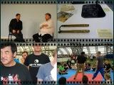 Hwang Jung Lee &amp Scott Adkins at Eastern Heroes weekend Seni 2014