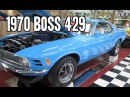 1970 Ford Mustang Boss 429 with Nascar engine 500 made