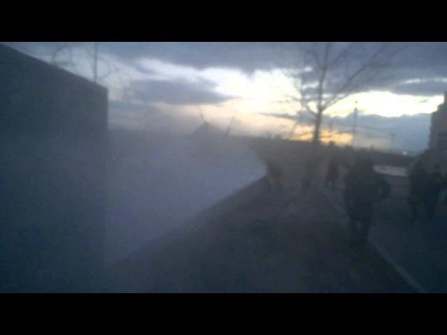 Стрельба в Киеве на стройплощадке на берегу Днепра, есть раненые