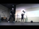 CrossFit Whitten Hero WOD Demo with Mikko Salo and Graham Holmberg